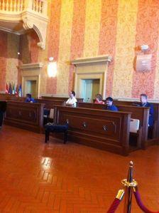 La riunione di oggi (Foto Reporternews)