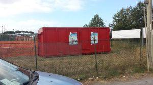 Il container allo Zodiaco