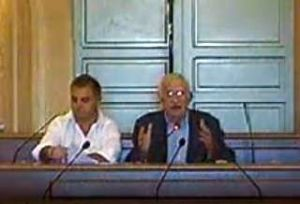 Il segretario e Borrelli prima dell'appello contestato