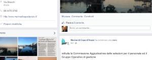La pagina facebook che annuncia la novità