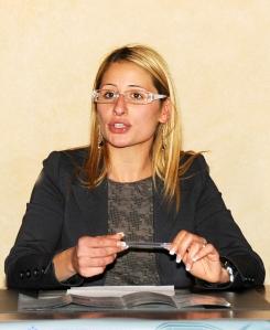 L'assessore Laura Nolfi