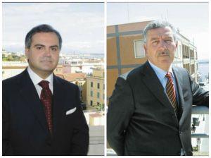 Pompeo Savarino (a sinistra) e Luciano Bruschini