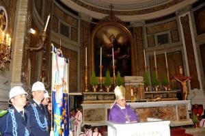 Il vescovo monsignor Marcello Semeraro (Foto Raniero Avvisati)