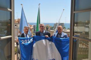 bandiera blu placidi sindaco vicesindaco (1)